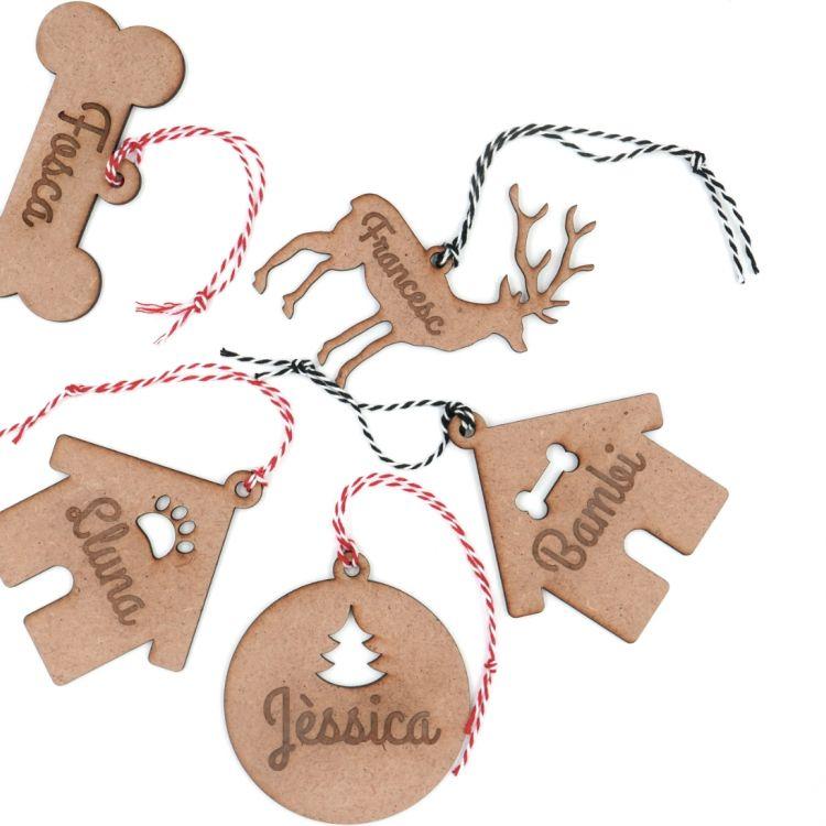 Pack de 12 detalles navideños