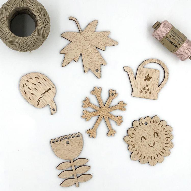 Flatlay Seasons Collection