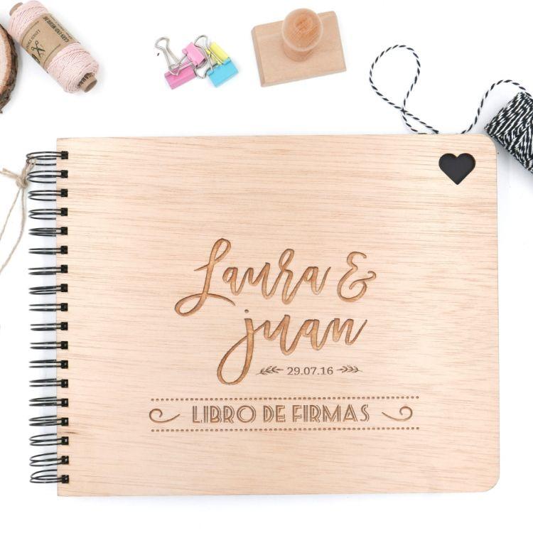 Llibre de firmes de fusta