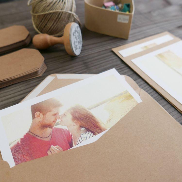 Invitación Postal con Foto