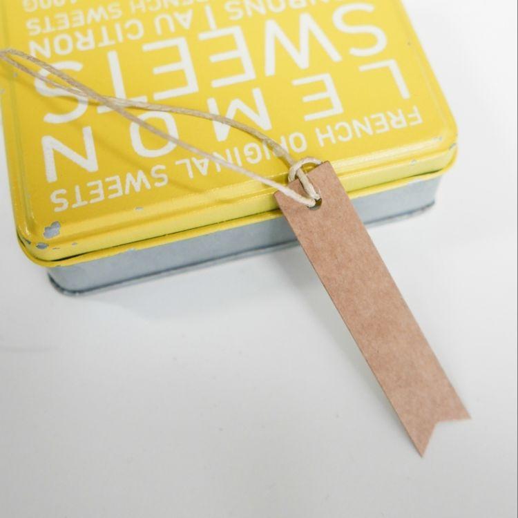 50 etiquetas mini flecha