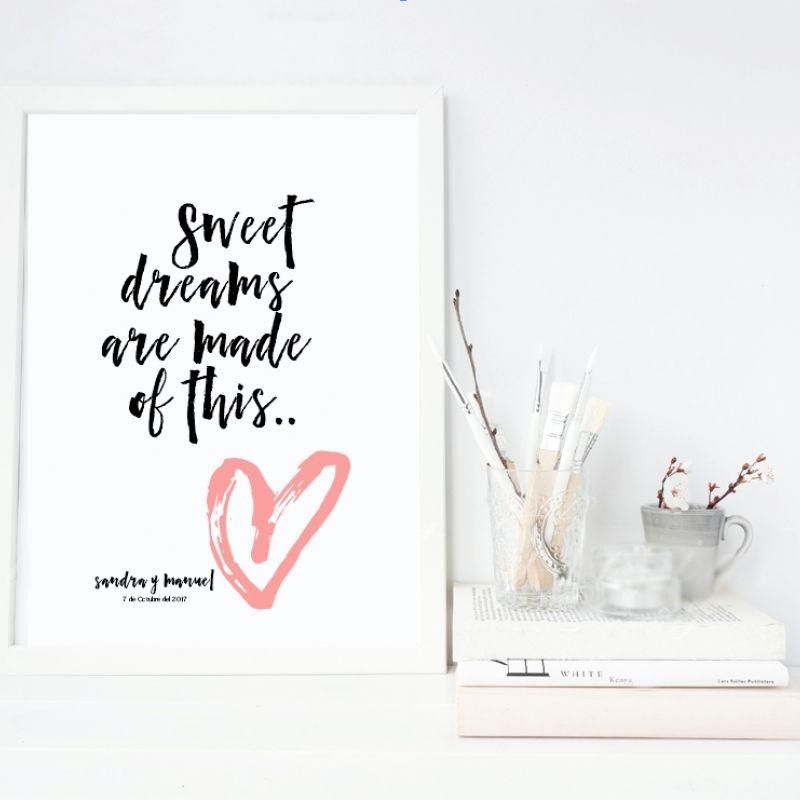 Lámina Sweet Dreams..